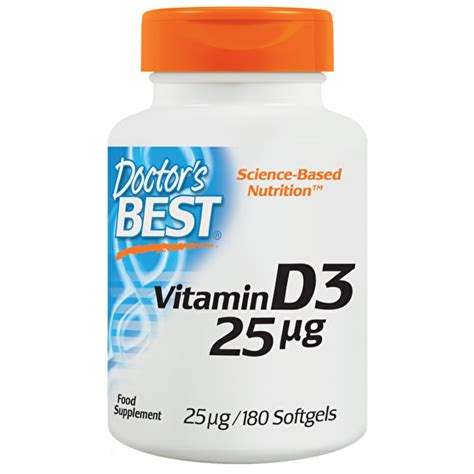 best vitamin d3 doctor s best vitamin d3 1000 iu doctor s best