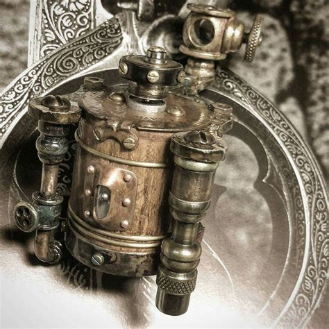 15 best images about steampunk tattoo machines on