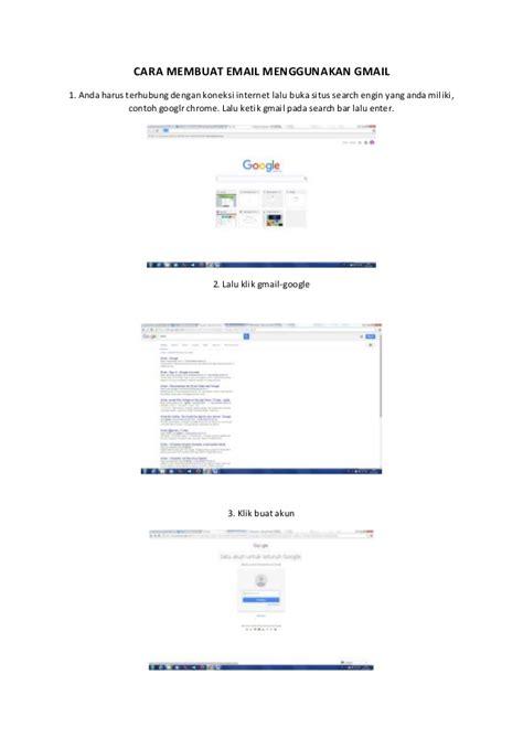 membuat email menggunakan google cara membuat email menggunakan gmail