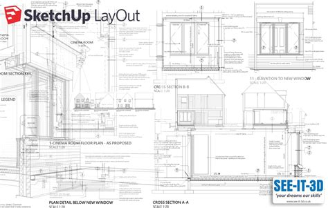 sketchup layout features cad training uk