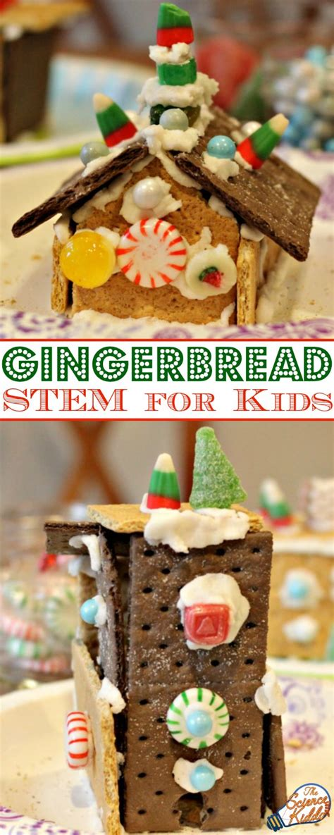 gingerbread houses to buy gingerbread house building stem for kids the science kiddo