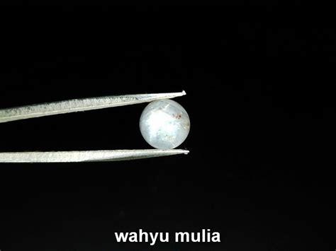White Sapphire Burma Safir Putih batu permata white safir asli kode 768 wahyu mulia