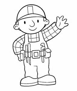 the coloring book bob the builder color pages coloring home