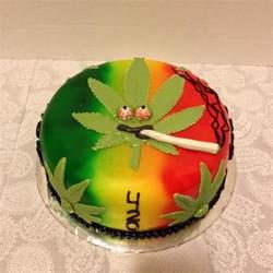 marihuana kuchen cake designs