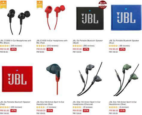 Harga Headset Bluetooth Jbl by Lazada Jbl In Ear Headphones Rm24 90 Normal Price 69 90