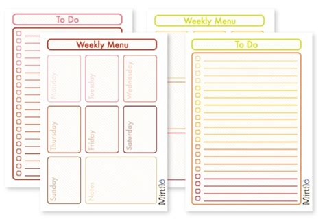 blank meal planner app 17 best images about printable on pinterest weekly meal