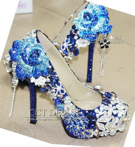 blue high heels wedding shoes heels me