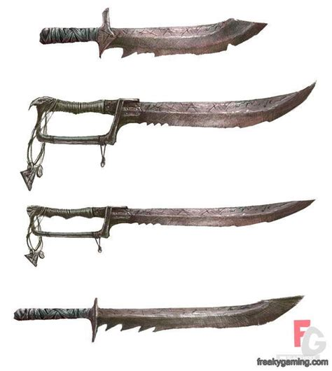 pin by apocalypse on weaponry weapons skav blades from warhammer of chaos