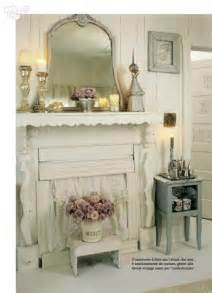 shabby chic fireplace shabby chic country
