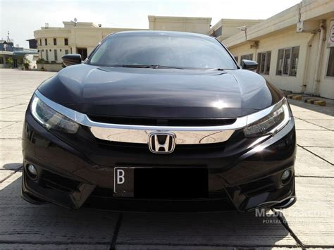 Honda Civic 1 5 Turbo 2016 Hitam jual mobil honda civic 2016 es prestige 1 5 di dki jakarta
