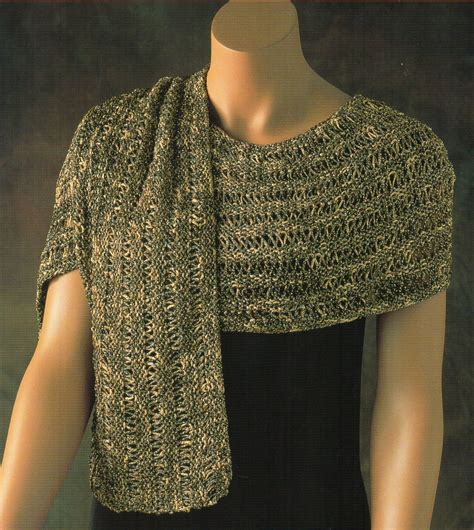 knitting pattern for dressy scarf evening wrap shawl knitting pattern womens shawl wrap