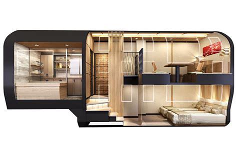 Luxury Sleeper by Jr East Taps Designer Ken Okuyama For Luxury