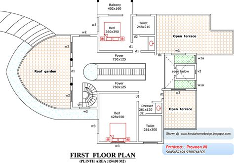 Boat Floor Plans | boat house 4261 sq ft kerala home design and floor plans