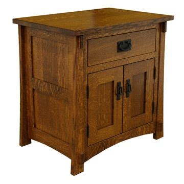 Mission Style Nightstands Amish Craftsman Mission Nightstand For The Home