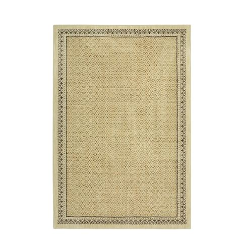 mohawk area rugs home depot mohawk home stardust gold 5 ft 3 in x 7 ft 10 in area rug 000033 the home depot