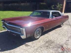 1969 Chrysler Imperial 1969 Chrysler Imperial Lebaron Ebay