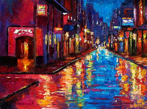 new painting new orleans magic painting by debra hurd