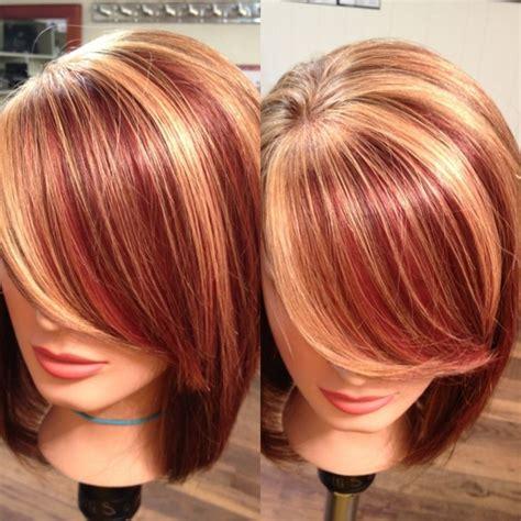 strawberry blonde  highlights girly stuff