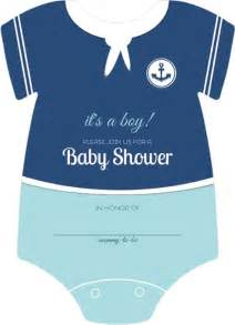 nautical baby shower invitations templates sailor onesie boys nautical themed fill in blank baby