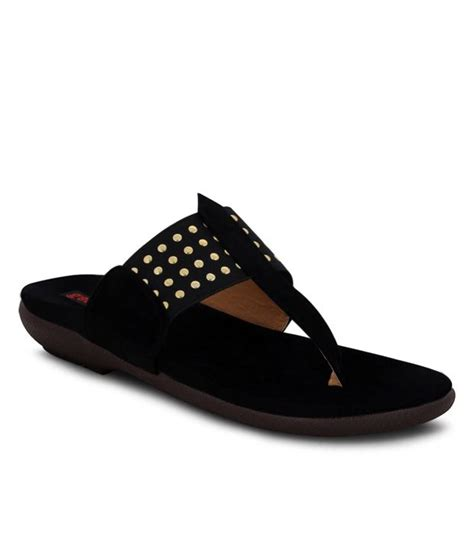 get glamr comfortable black flats with broad price