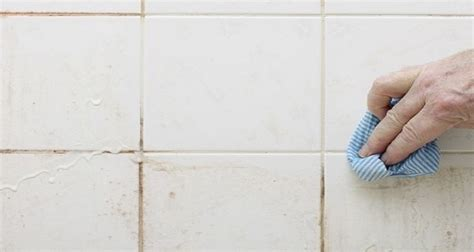 home remedies for cleaning bathroom tile grout here s how to clean tile grout with this homemade grout