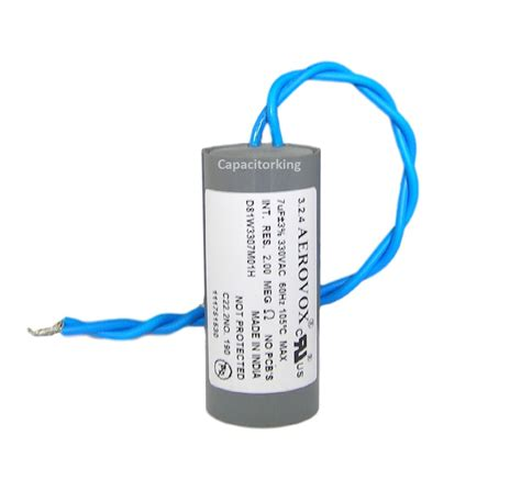 what does capacitor do in air conditioner what does a run capacitor do in a motor 28 images what does a compressor run capacitor do 28