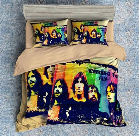 3d customize pink floyd bedding set duvet cover set