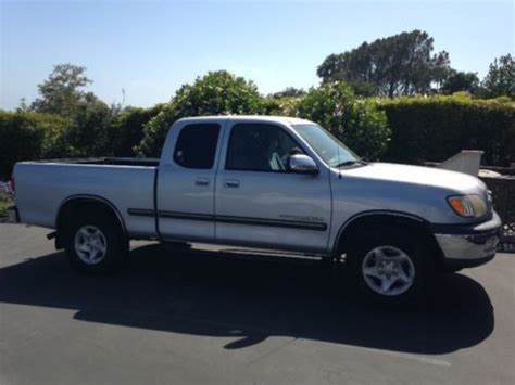 2000 Toyota Tundra Mpg Find Used 2000 Toyota Tundra 4x2 Sr5 V8 Access Cab In