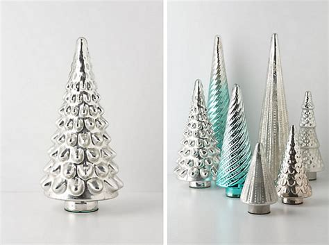 silver christmas tree decor decoist