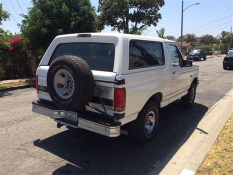 car owners manuals for sale 1992 ford bronco instrument cluster 1993 ford bronco xlt low miles 1992 1994 1995 1996 for sale ford bronco 1993 for sale in los