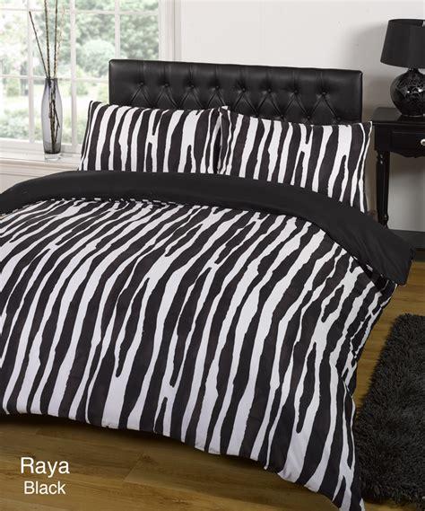 White Single Bedding Sets Duvet Quilt Cover Bedding Set Black White Single King Kingsize King Ebay