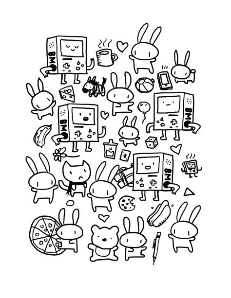 Coloring Page Kawaii by Kawaii Coloring Pages Best Coloring Pages For