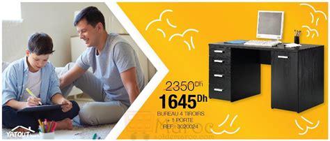 bureau promo promo yatout home bureau 4 tiroirs 1645dhs les soldes et