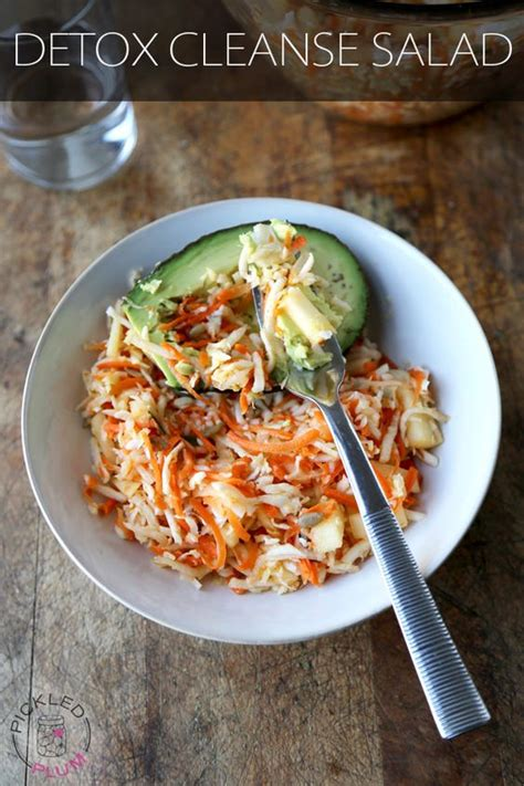 Paleo Detox Salad by Cabbages Vitamin K And Easy Detox Cleanse On