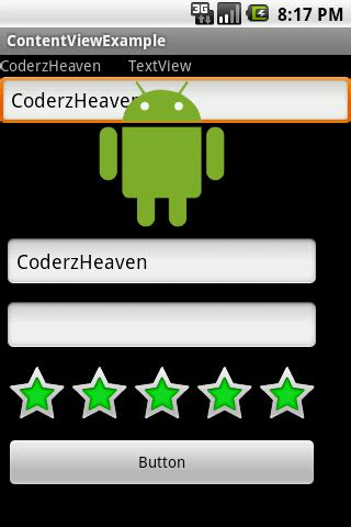 android layout one view over another how to place layouts one over another in android using