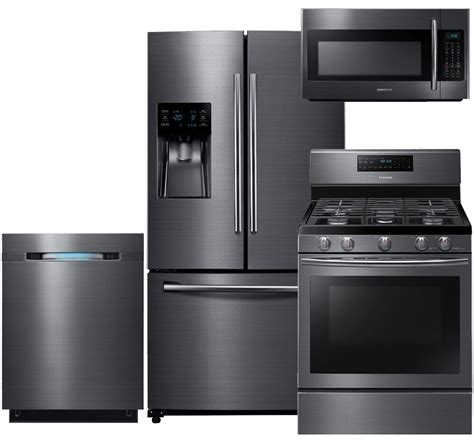 black kitchen appliance package lg black stainless kitchen appliance packages amazing