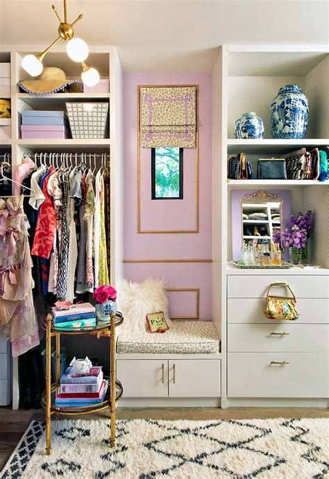 walk in the room in gold one room challenge reveal walk in closet mimosa