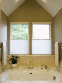 Bathroom window privacy coverings