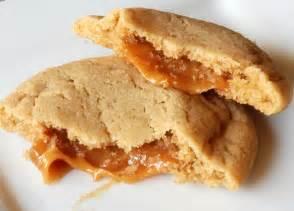 scrambled henfruit caramel stuffed apple cider cookies