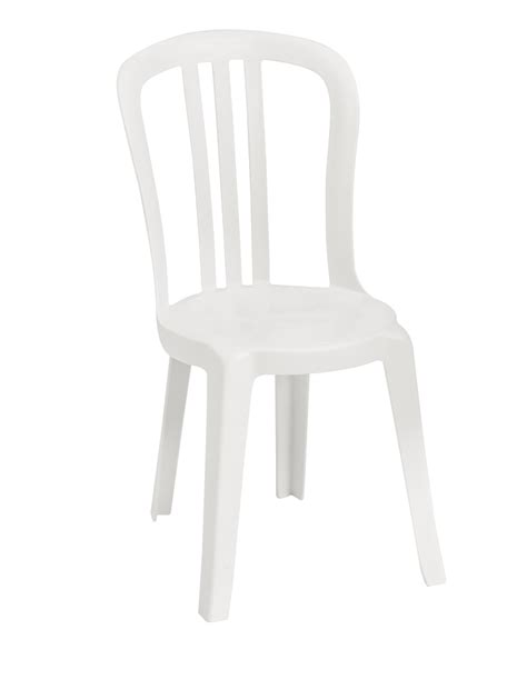 White Plastic Bistro Chairs White Grosfillex Resin Finish Restaurant Miami Bistro Dining Patio Pool Side Chair Call For