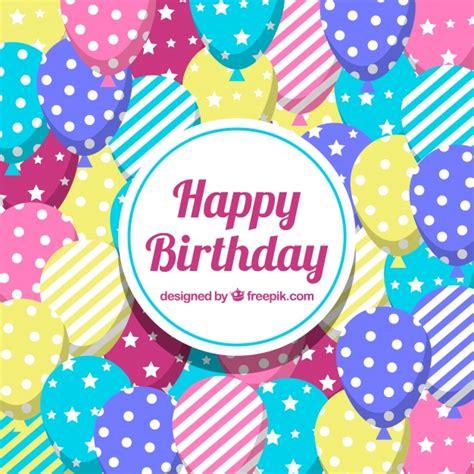 descargar imagenes de happy birthday gratis fondo de feliz cumplea 241 os con globos de colores