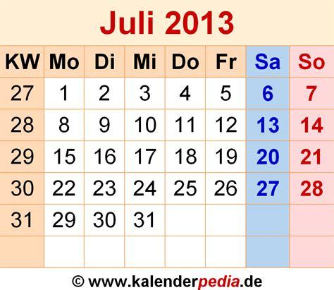 Calendar July 2013 Calendar July 2013 28 Images Free Printable Calendar