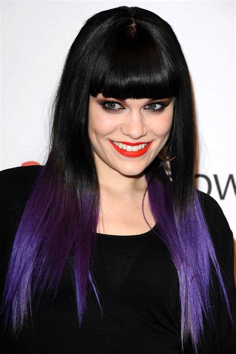what purple hair dip dyed with black looks like emillie s world hair freaks dip dye