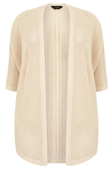Cp Onb Cocoon Blouse open knit cocoon cardigan with half sleeves plus size 16 to 36