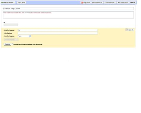 cara membuat google form di google drive cara membuat form di google drive blog anak indonesia