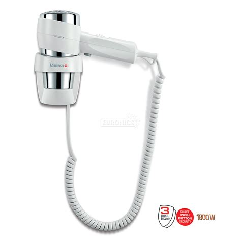 Wall Mounted Hair Dryer Philips wall mounted hairdryer valera 1800w 542 14 038awhite