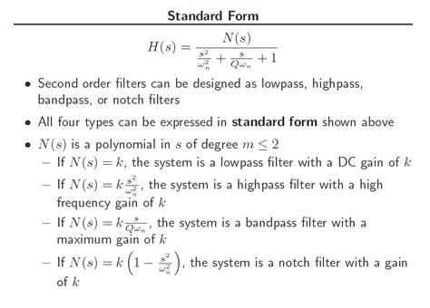 high pass filter laplace transfer function standard form of 2nd order transfer function laplace transform electrical engineering stack