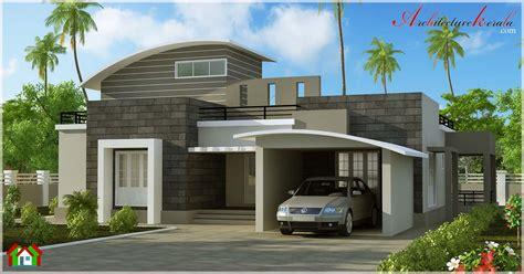 kerala home design kottayam contemporary style villa elevation architecture kerala