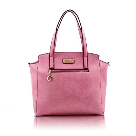 Tote Pink pink tote handbags suede tote colette green