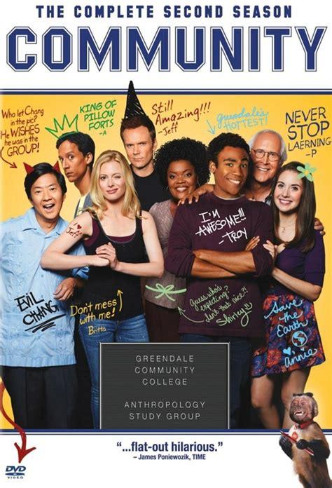 Jual Dvd West Series The Big Theory 1 6 Lengkap poster for community season 2 flicks co nz